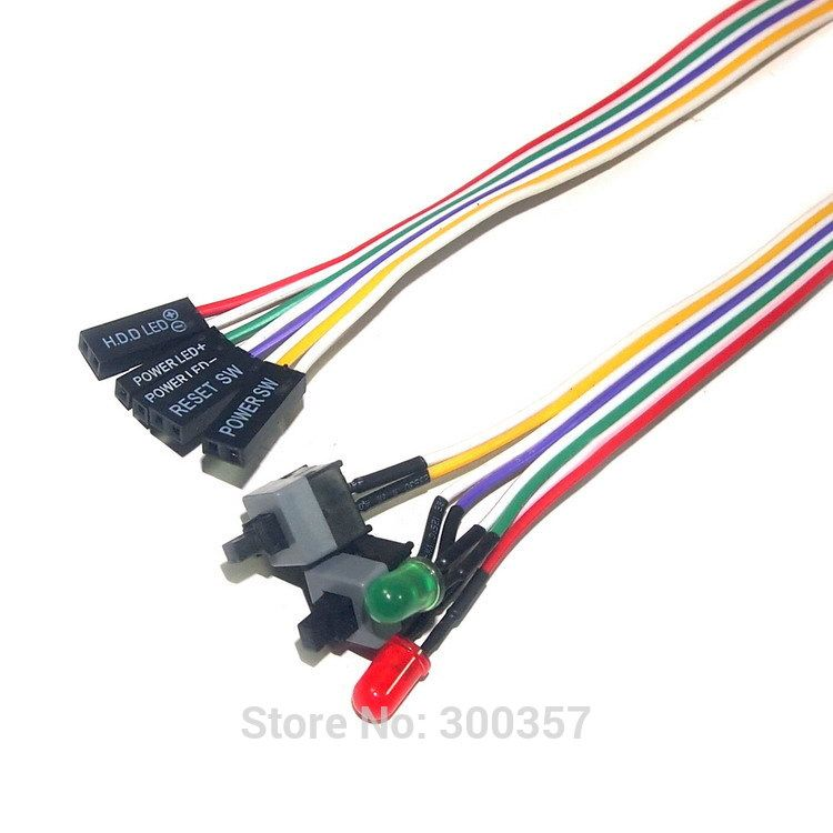 3910db144652e16d31ec3ccaef180cf8 desktop computer pc case power cable sw switch re starting switch