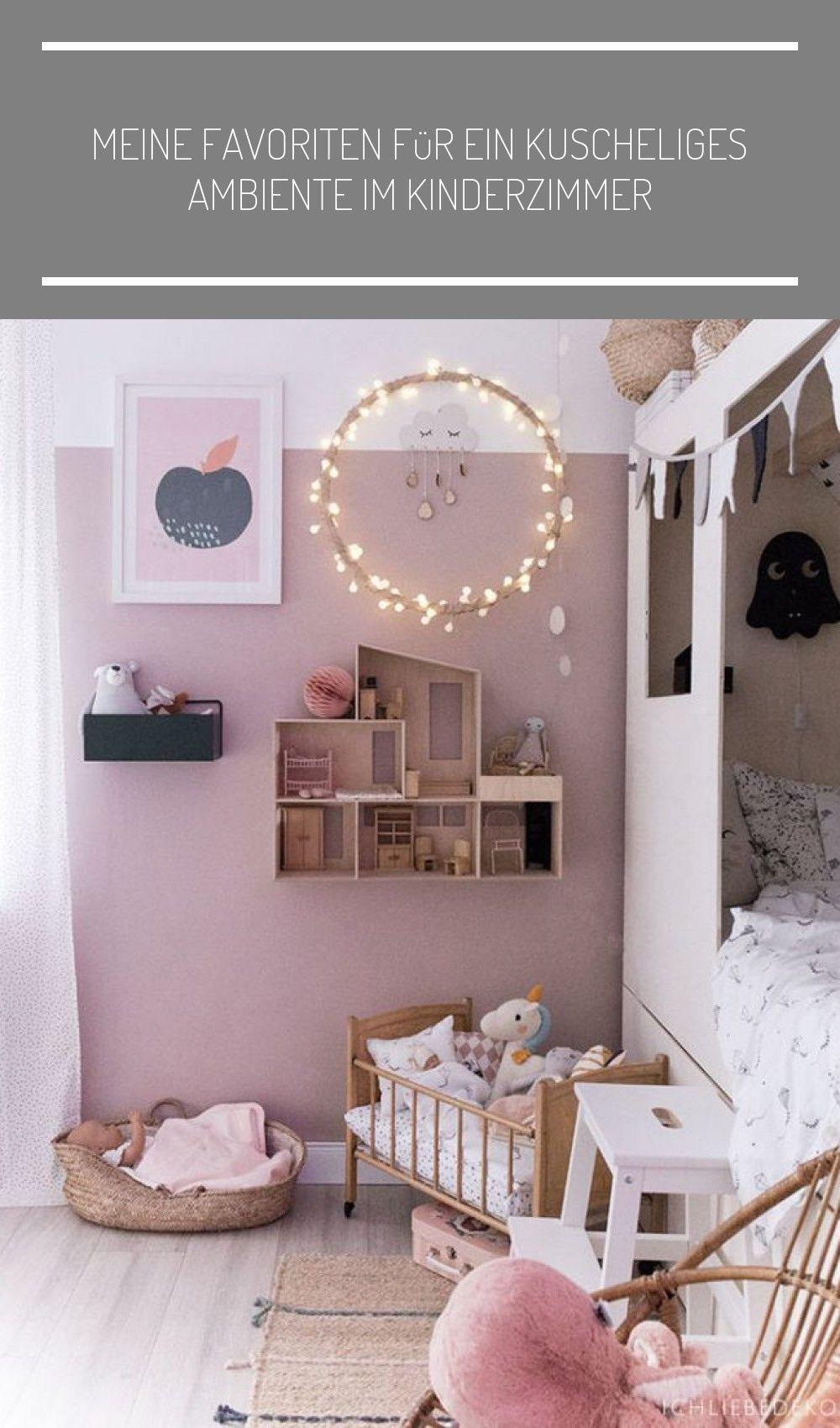 Maedchenzimmer Mit Kojenbett Und Wand Altrosa Babyzimmer Wandgestaltung Wickelkommode Meine Favoriten Fur Ein Kuscheliges Baby Room Decor Girl Room Kids Bedroom