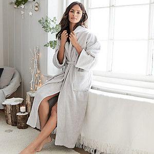 21fb38d302 Unisex Cotton Classic Robe