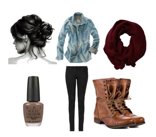 brown combat boots outfit ideas pinterest brown