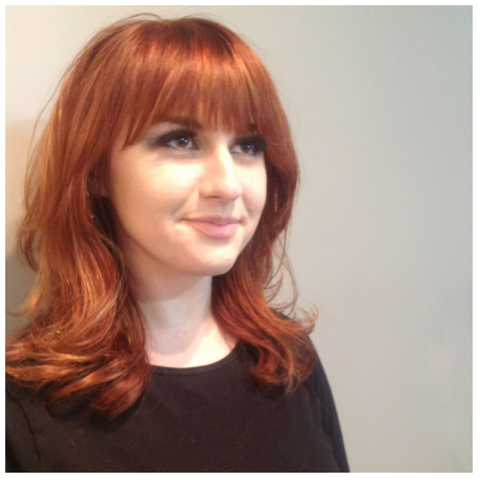 Copper Done With Redken Chromatics Stylists Work Pinterest