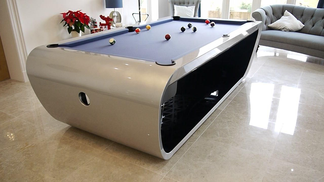Amazing Cool Pool Table   I Would Love To Have This :)