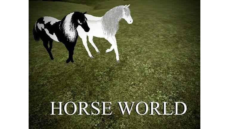 Horse World Roblox Horse World Horses World