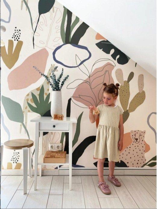 Des papiers peints arty pour les kids - Hëllø Blog