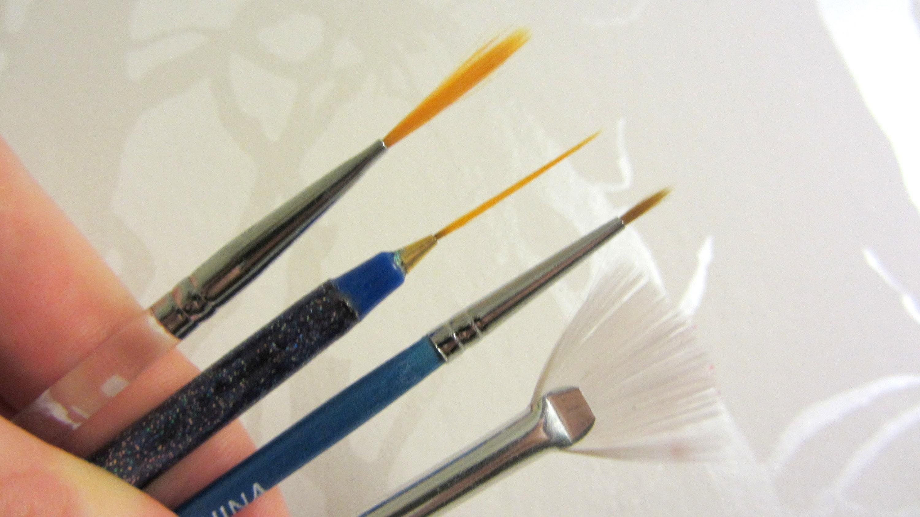 How To How I Clean My Nail Art Brushes Nail Art Brushes Nail Brushes Painted Nail Art