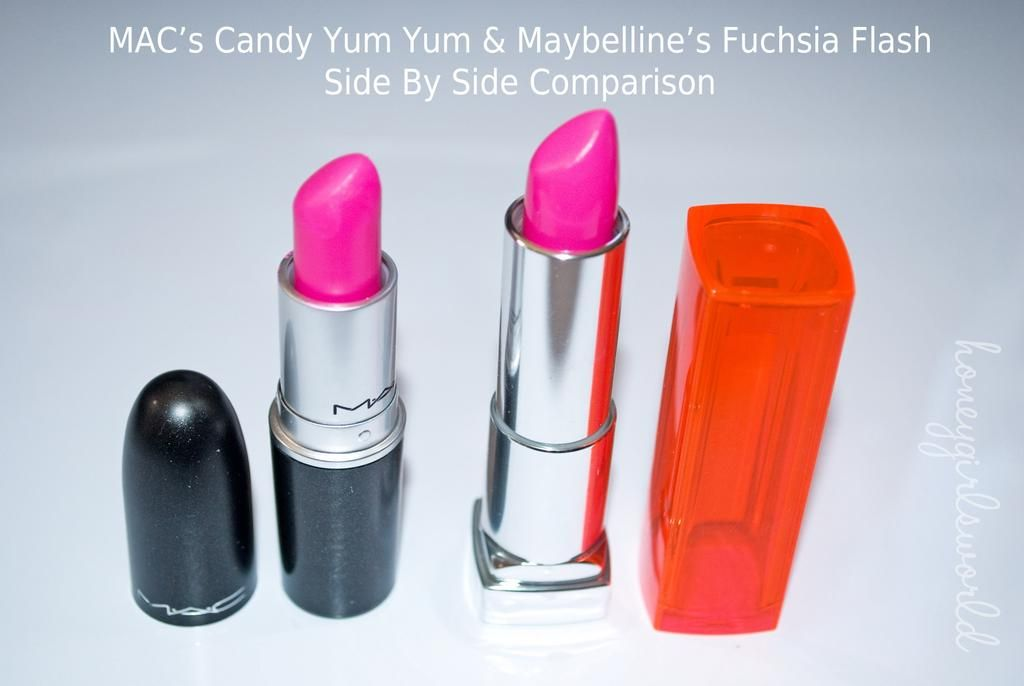 BeautyByT: Dupe Alert! MAC vs. Maybelline