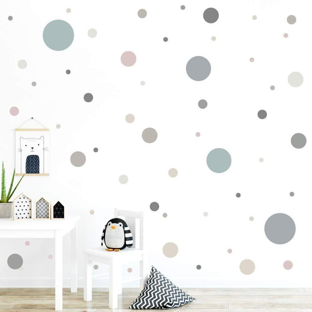 Amazon De Malango 78 Wandsticker In Vielen Verschiedenen Farbkombinationen Punkte Kinderzimmer In 2020 Haus Deko Kinder Zimmer Schlafzimmer Fur Kinder