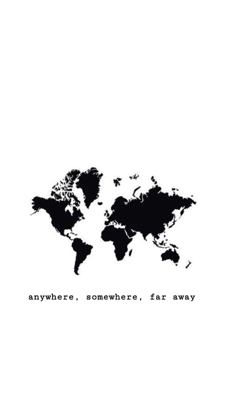 Cartina Geografica Del Mondo In Bianco E Nero.Ovunque Da Qualche Parte Molto Lontano Sfondi Twitter Sfondi Vintage Sfondi