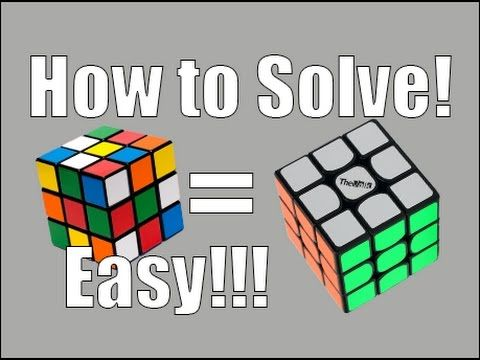 How To Solve A Rubik S Cube Beginners Method Super Easy Youtube Rubik S Cube Solve Rubiks Cube Patterns Solving A Rubix Cube