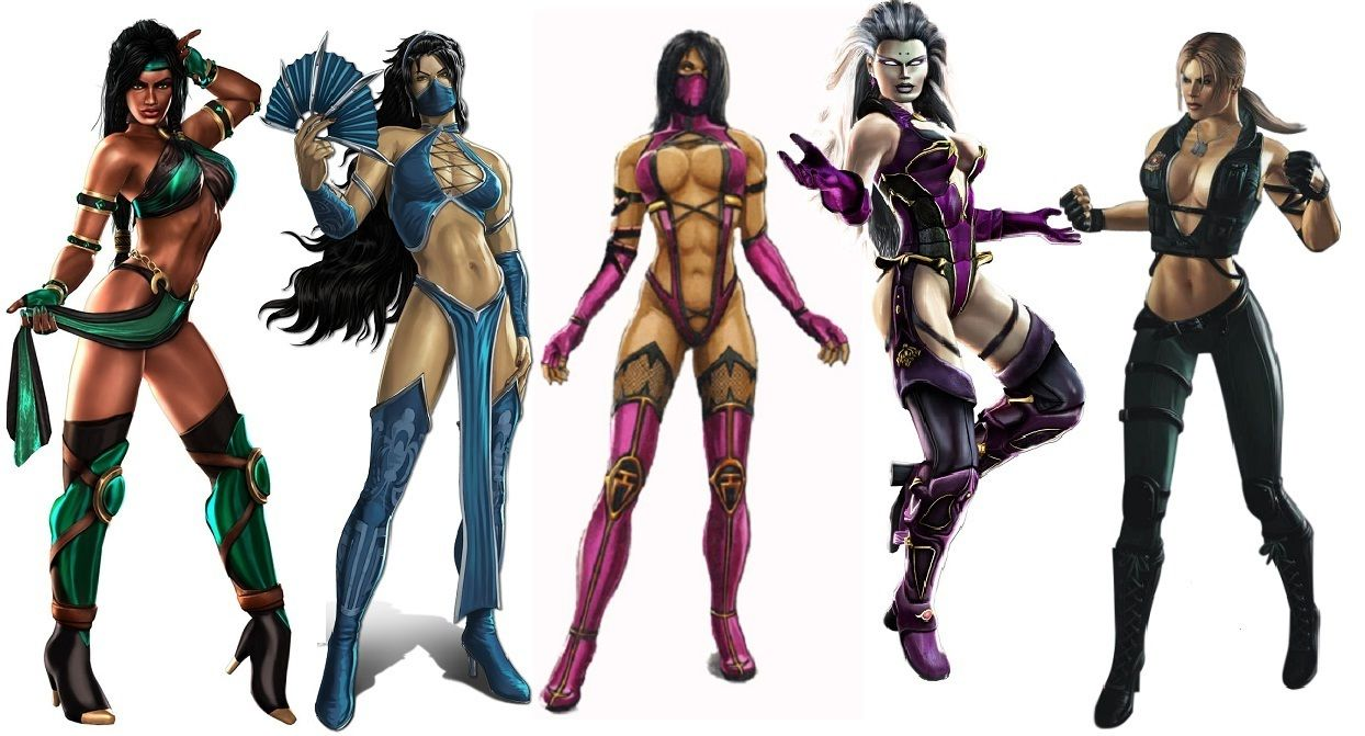 mortal kombat girl characters names