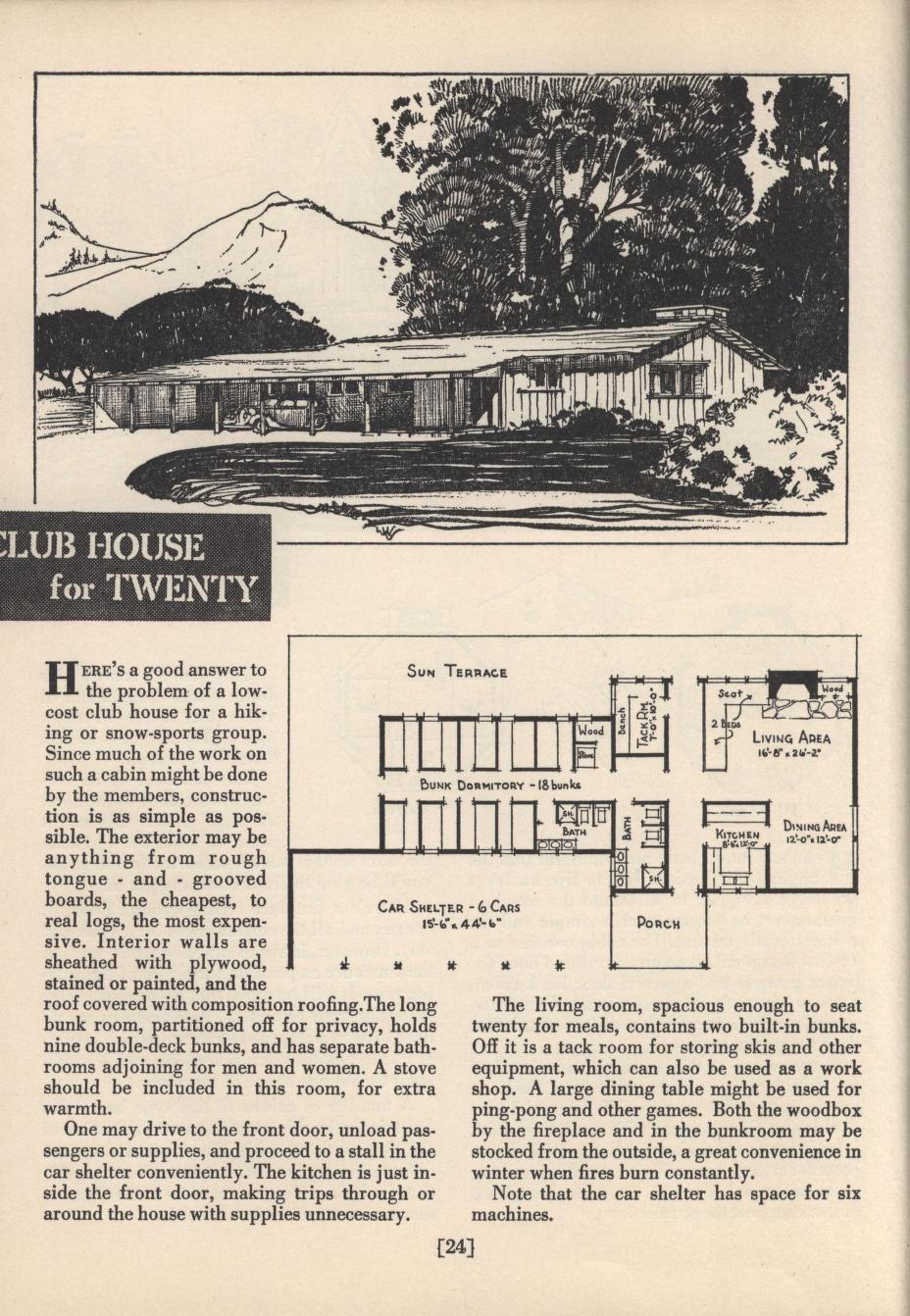 Sunset S Cabin Plan Book Sunset Magazine Free Download Borrow And Streaming Internet Archive Cabin Plans Cabin Sunset Magazine