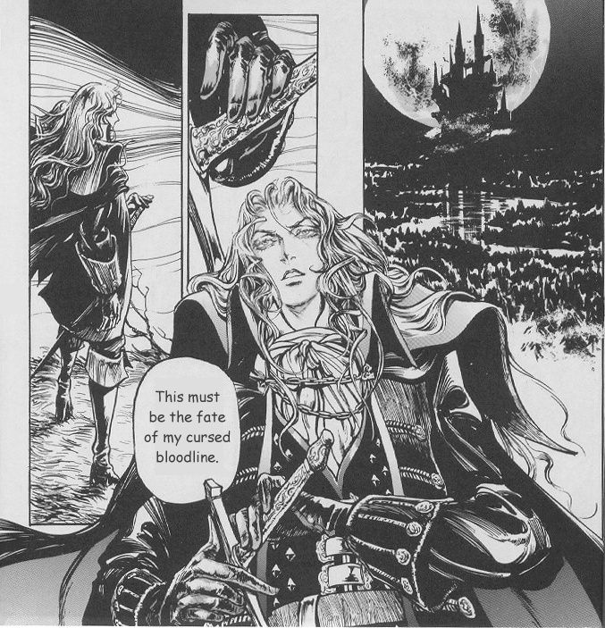 Castlevania manga(English)