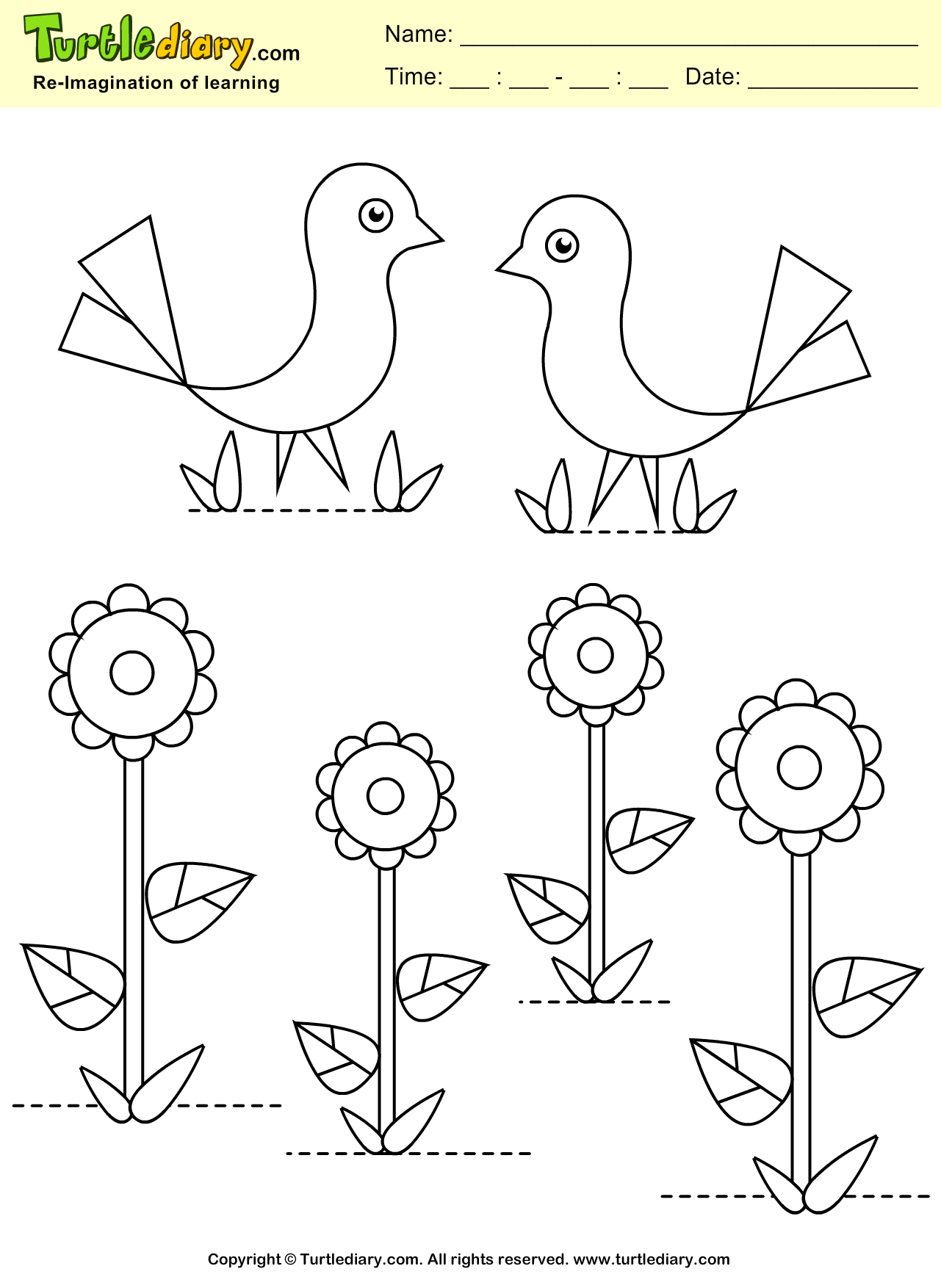 Spring flower coloring sheets - Explore Kids Coloring Coloring Sheets And More Spring Flower