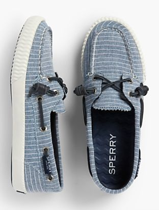 e69f12d92e4 Sperry® Boat Shoes - Pinstripe
