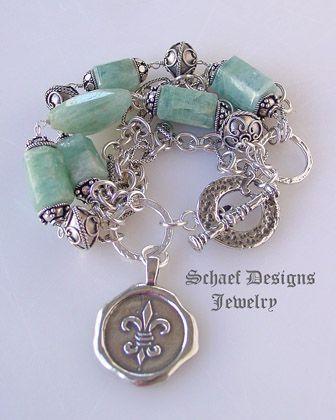 FDL bracelet  #fleur_de_lis #accessories #jewelry #bracelet