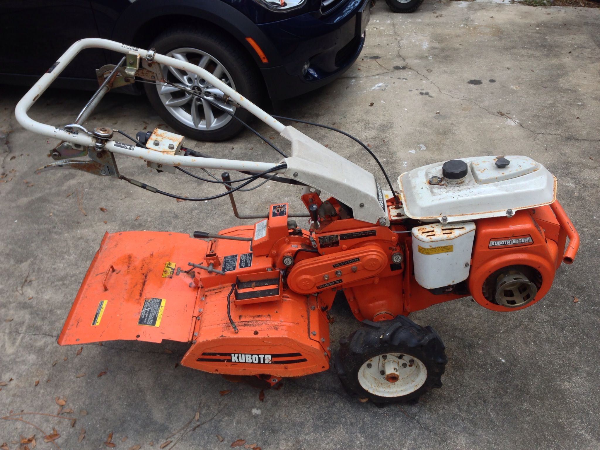 Kubota AT70s for those who wish they had a tractor Craigslist