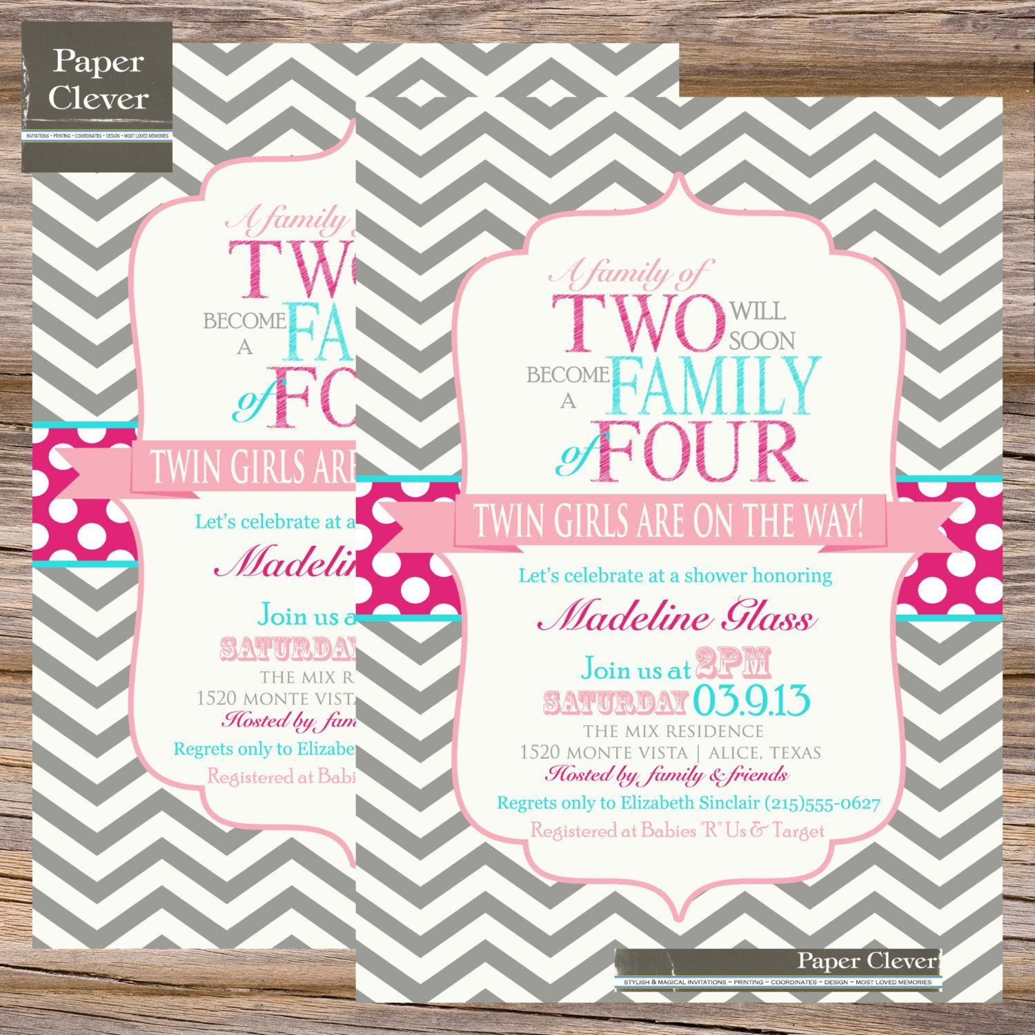 Couples Baby Shower Invitation More
