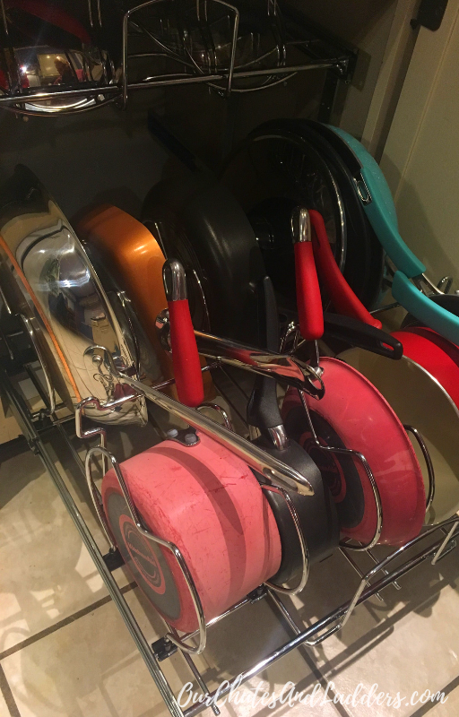 Absolutely Love My New Cookware Organizer Organizing My Kitchen