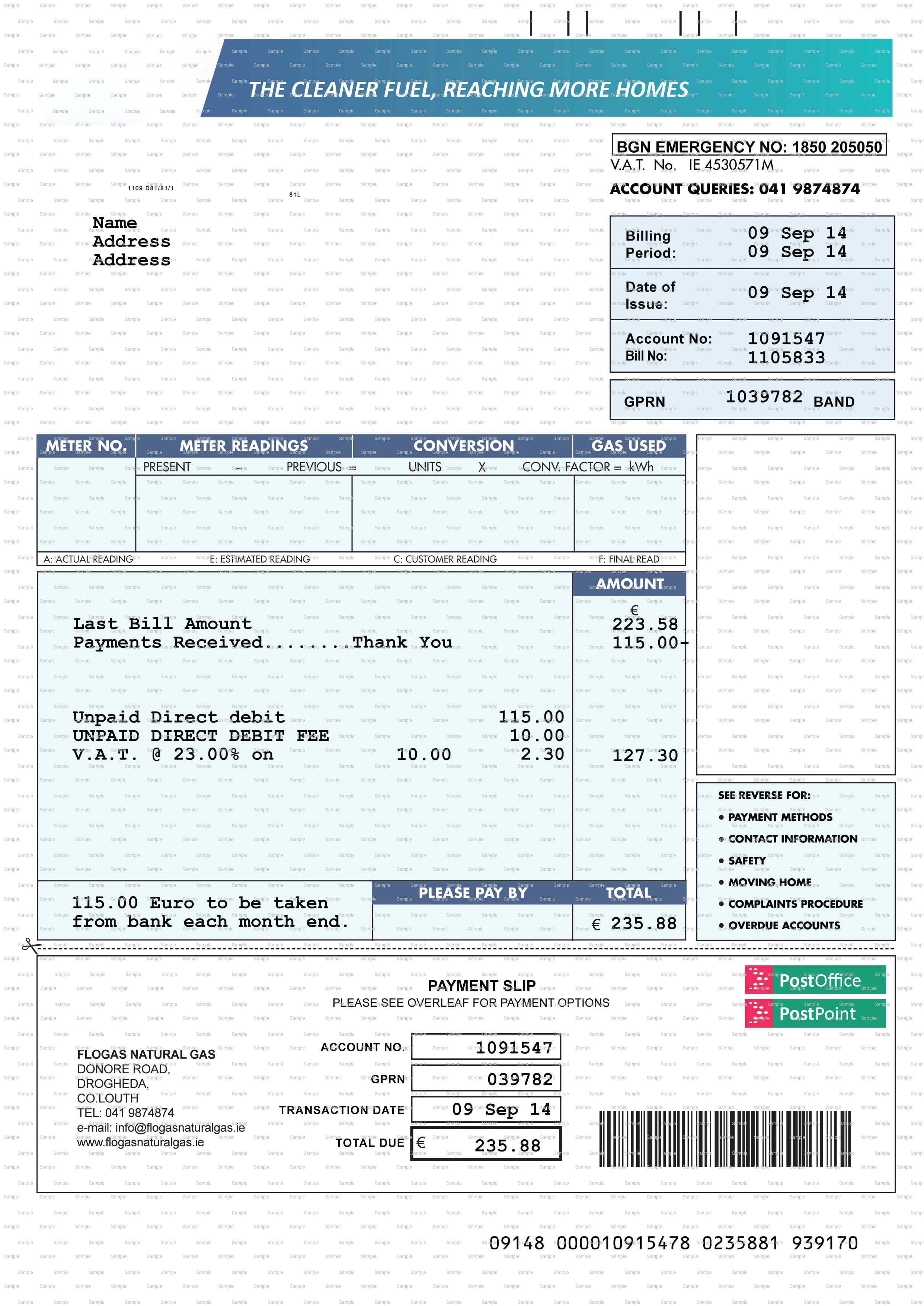 halifax bank statement template fake statements new page – Fake Payslip Template