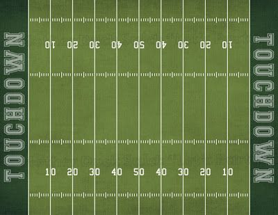 Accomplished image intended for football field printable