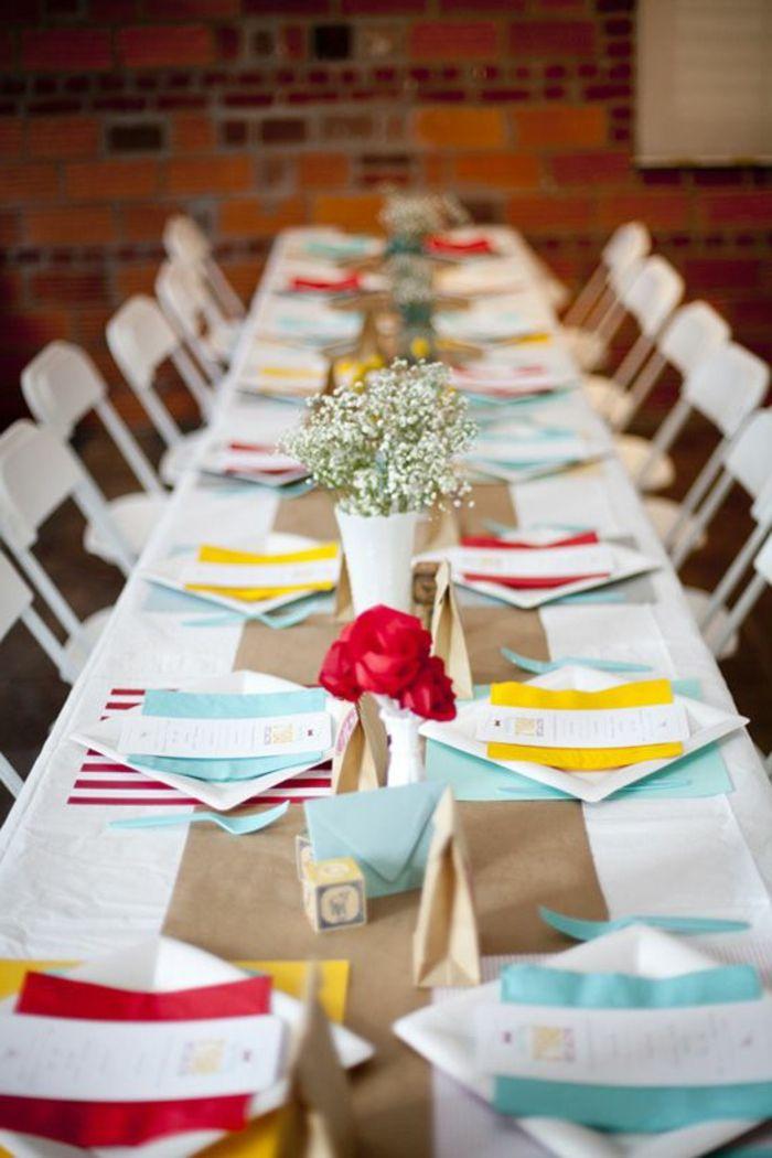 La décoration de table anniversaire n\u0027est plus une mission impossible. On a  sélectionné les meilleures photos de décoration pour vous donner  d\u0027inspiration!!