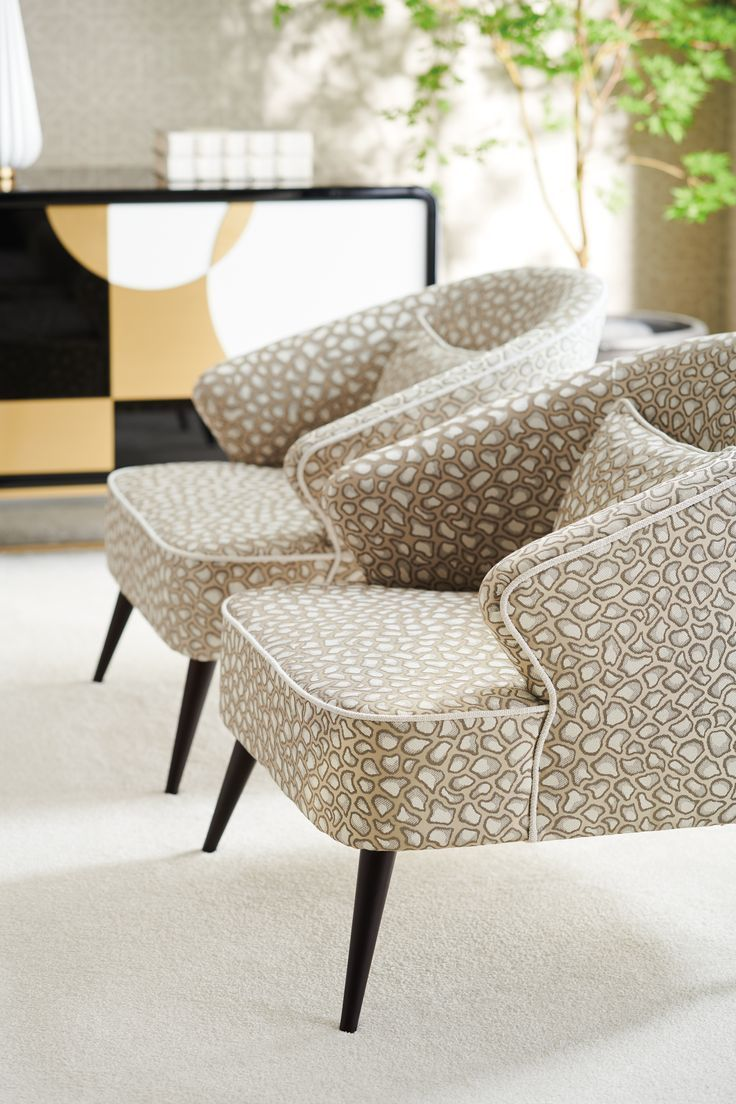 Luxury Showcase For Living Room Royal Art Deco: Caracole The Melanie Arm Chair In 2020