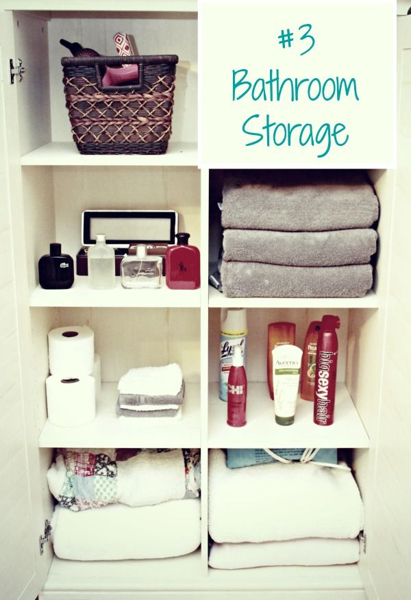 3 Small Space Storage Solutions Using 1 Furniture Piece!   Mom 4 Real