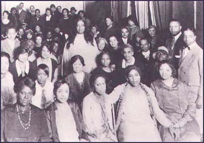 #Yogananda with his first African-American Study Group, Washington, D.C., 1926