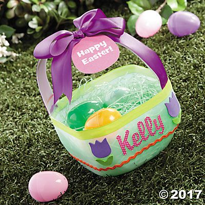 Milk jug easter basket idea galones manualidades pinterest do it yourself easter baskets are easy to make with just a few craft supplies and your creative ideas personalized easter baskets let kids know they are solutioingenieria Choice Image
