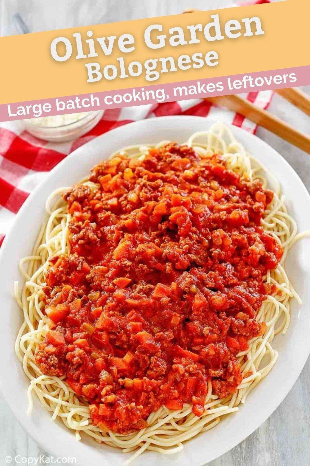 Olive Garden Bolognese Copykat Recipes In 2020