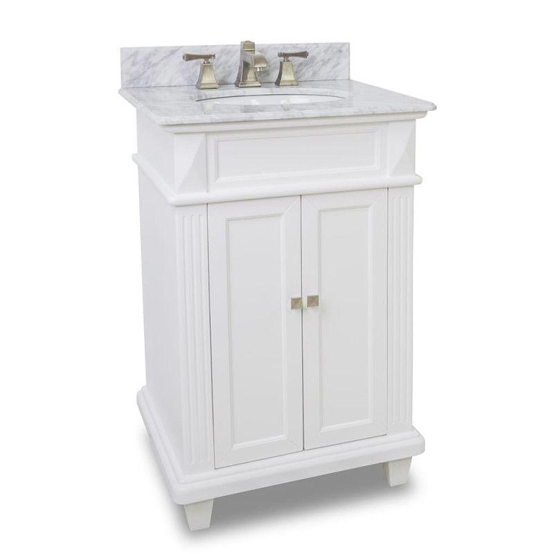 Elements Van094 T Mw 24 Inch Bathroom Vanity Traditional