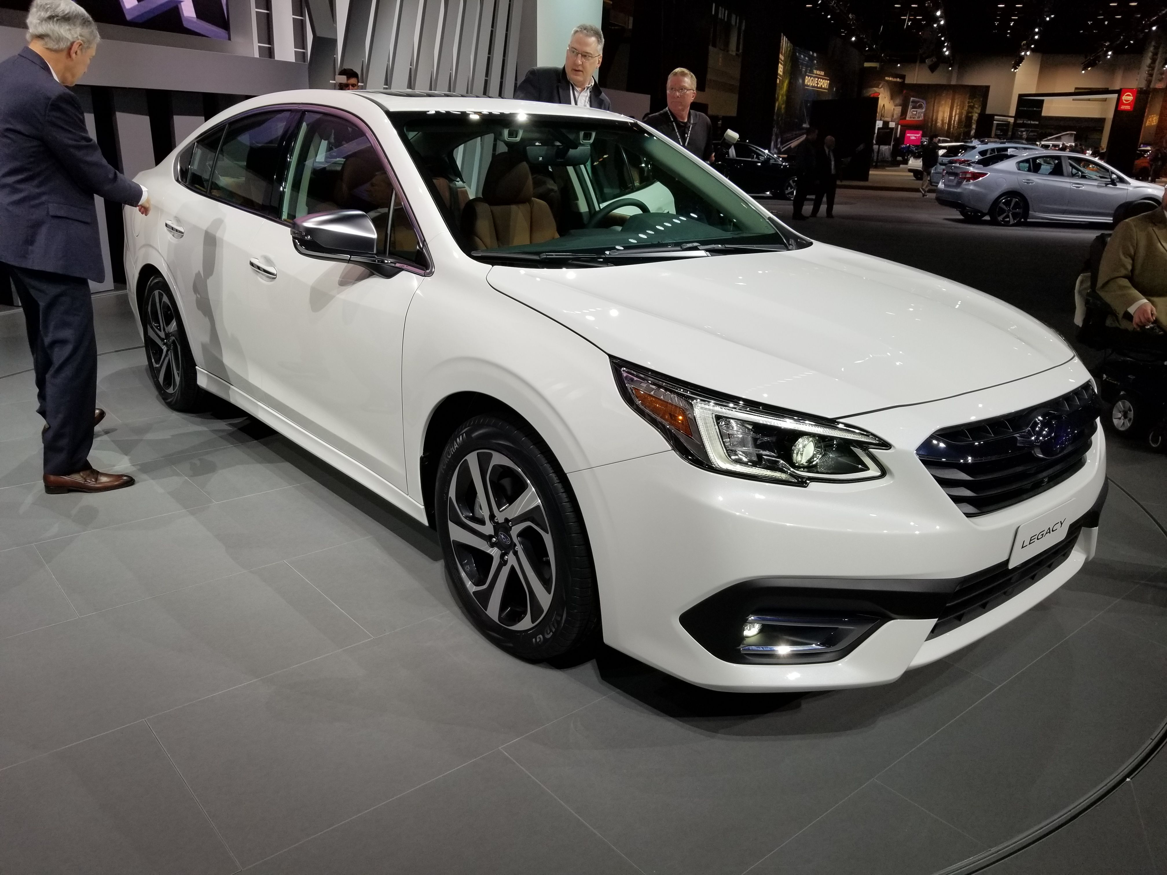 2020 Subaru Legacy Brings New Engine And Tech To Chicago Top Speed Subaru Legacy Subaru New Engine