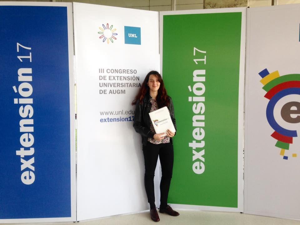 Nuestra colaboradora Sabrina Mansutti