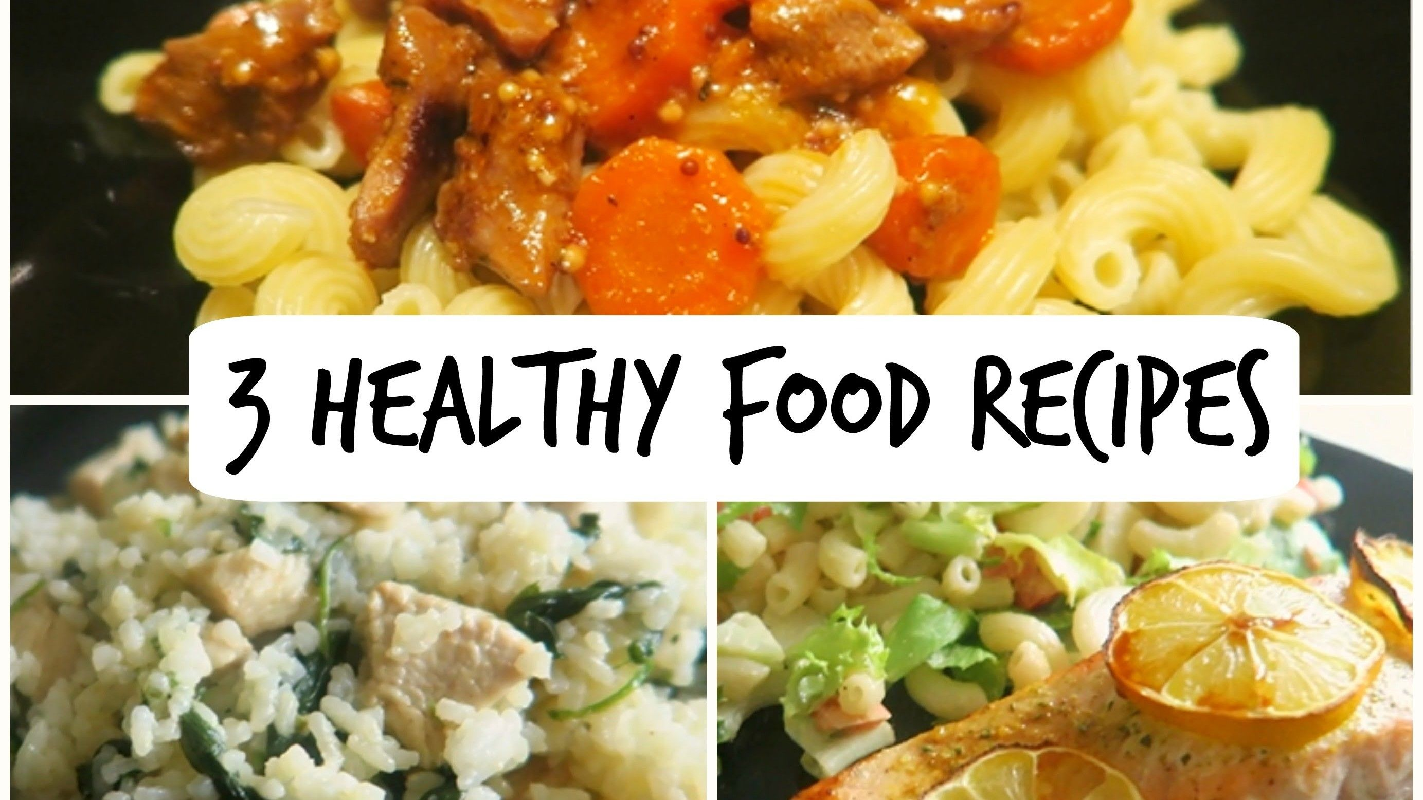 3 easy healthy food recipes healthy recipes pinterest 3 easy healthy food recipes forumfinder Gallery
