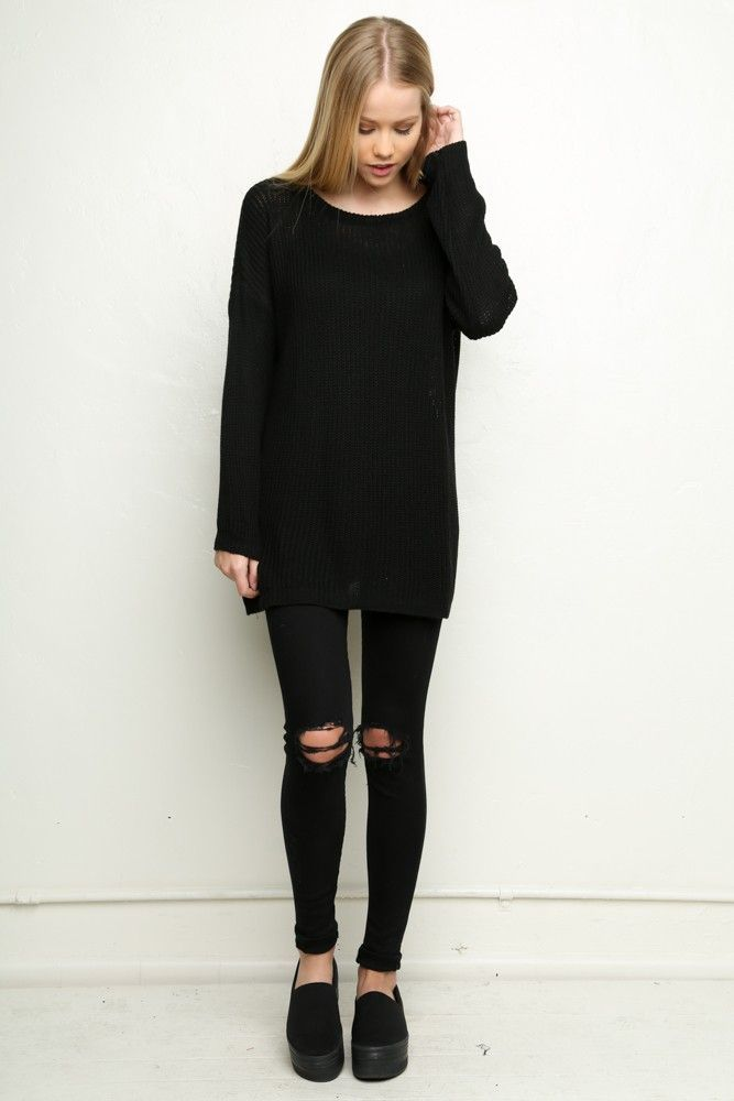we're dressed in black from head to toe | Outfits | Pinterest ...