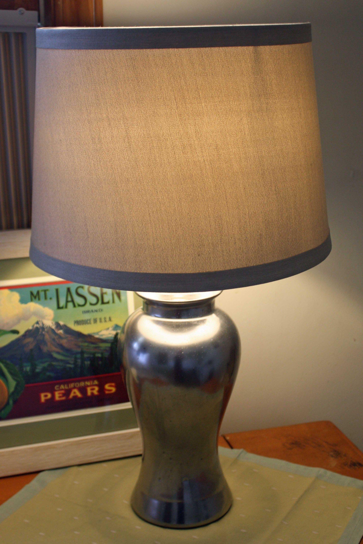 Home ideas mercury glass diy mercury glass lamp lamp