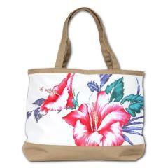 Tropical Hibiscus Beach Flowers - Shoulder Bag
