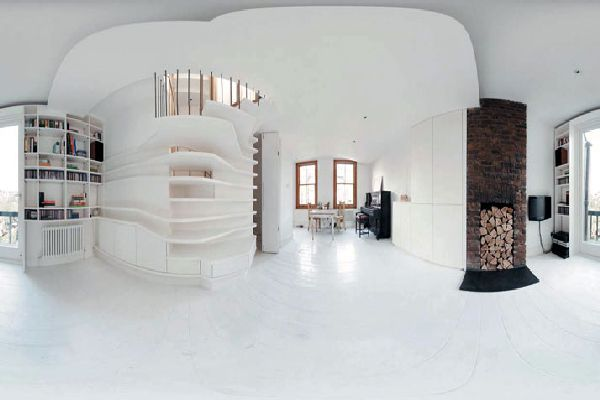 really cool studio apartment | Cool Interior Apartment Renovation ...