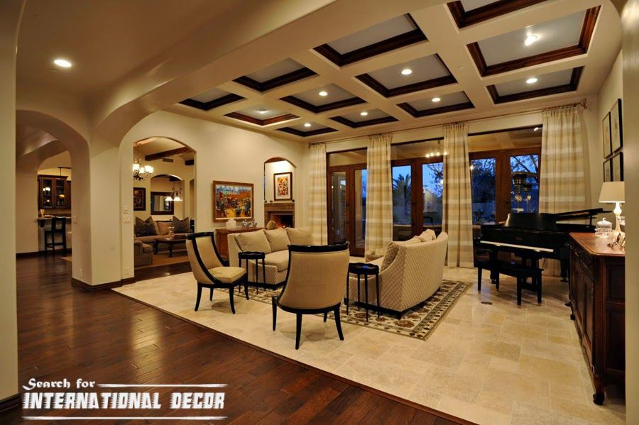 Decorative Wood Ceiling Tiles Coffered Ceiling Tilesdesigns  Ceiling Designs  Pinterest