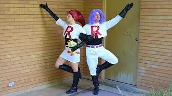 How To Make Jessie Hair Team Rocket Pokemon Cosplay! - YouTube