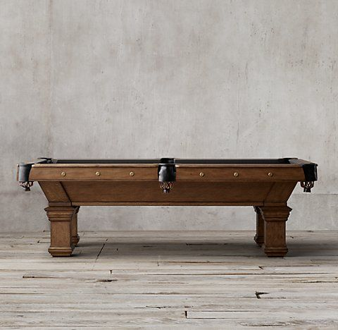 Game Tables RH Perfect Christmas Pinterest Tables - Restoration hardware pool table