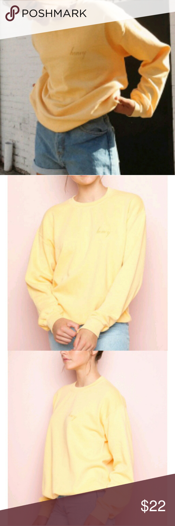 Brandymelville Embroidered Honeysweatshirt M My Posh Picks