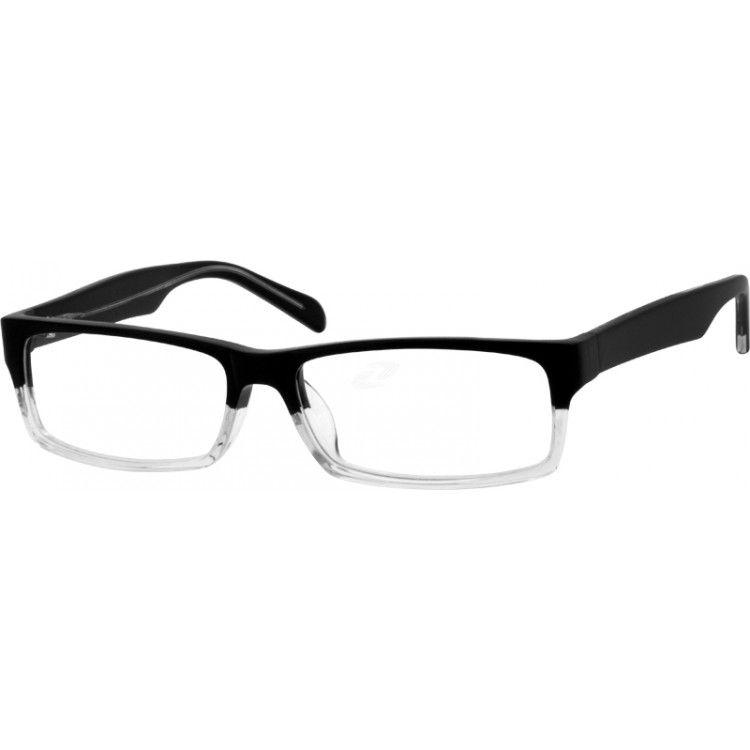 Black Acetate Full-Rim Frame #489821 | Zenni Optical Eyeglasses