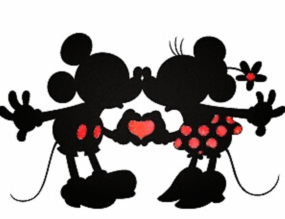 Pin By ☆queenie★ On Ii ︎minnie ☆ Disney Silhouette
