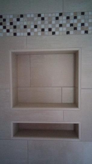tile ready shower niche
