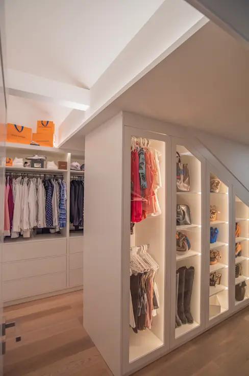 Exklusive Lichtplanung für schicke Designer-Wohnung #bedroomlighting