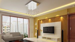 simple tv panel design for living room - Google Search ...