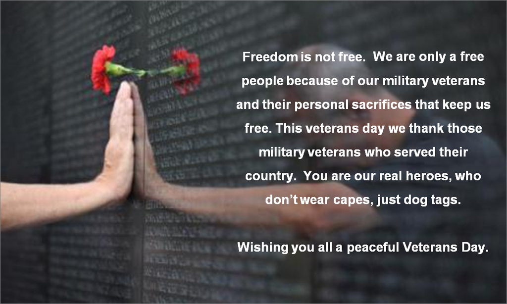 """""""In honor of #VeteransDay2014 - a special #ThankYou to those that have served & continue to serve our country. #rwroge http://t.co/UYXNT71E0I"""""""