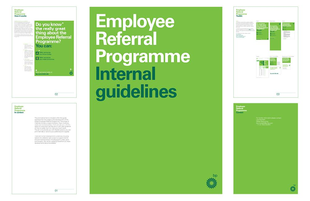 Bp Employee Referral Programme  Unser Portfolio