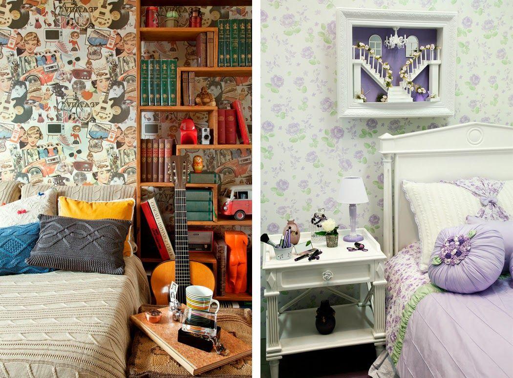 Vintage Schlafzimmermöbel ~ Vintage schlafzimmer in hellgrün retro kleiderständer und bett